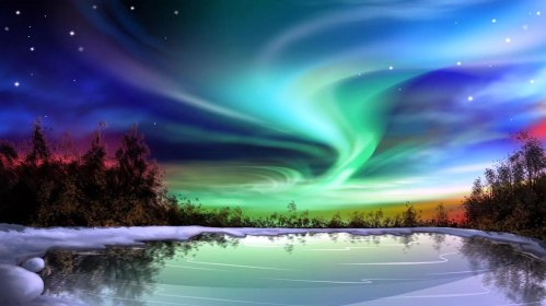 © Northern Lights - Alien Study