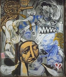 Street Art, de Gaspé, Montréal, Qc. - Cheryl-Lynn