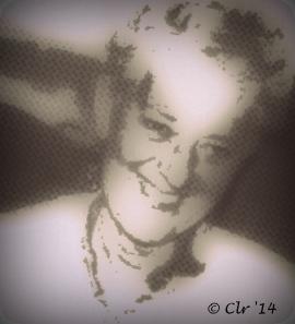 vignette of mom signed