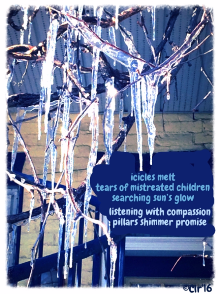 icicles of compassion