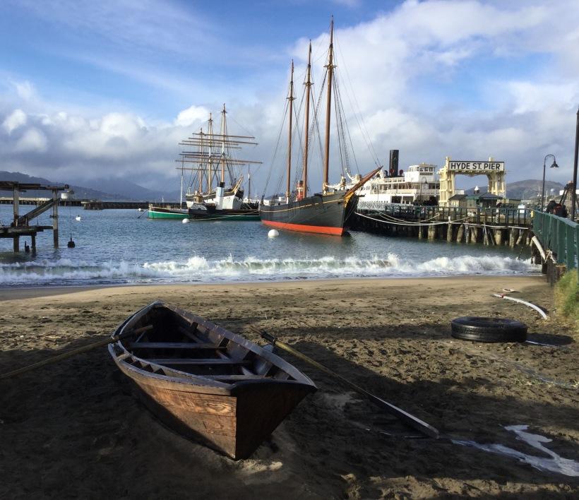 ocean, San Francisco, boat