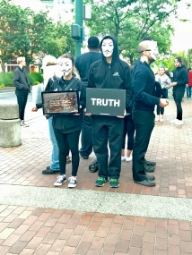 (c)Clr '19 Protesters in San Jose